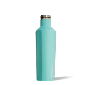 Corkcicle. Canteen 16oz Gloss Turquoise