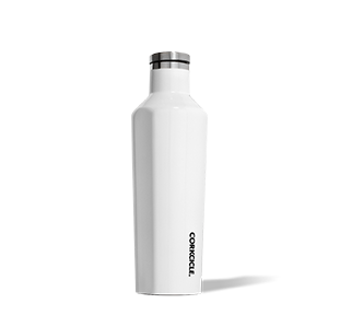 Corkcicle. Canteen 16oz Gloss White