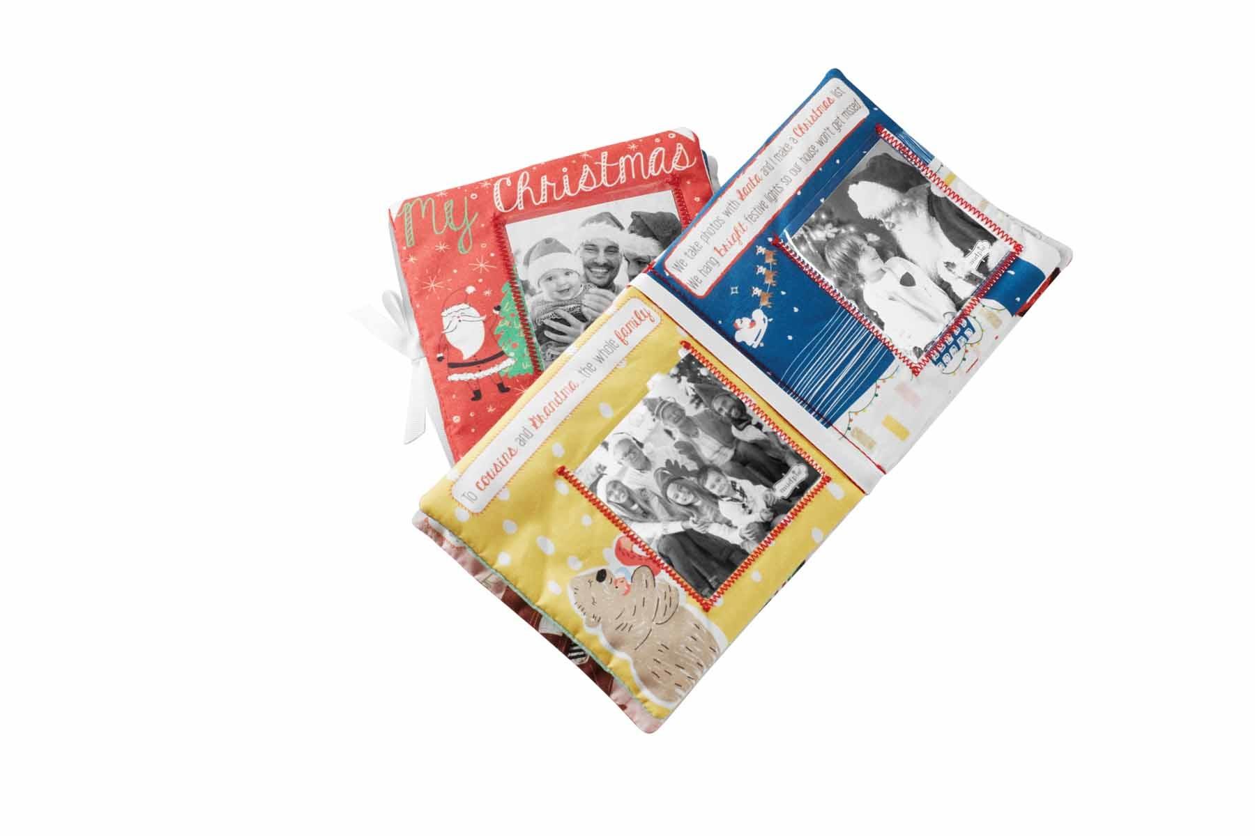 Mud Pie CHRISTMAS PHOTO ALBUM BOOK