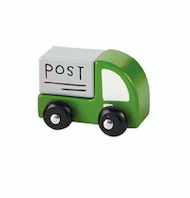 Mud Pie MAILTRUCK WOOD TOY