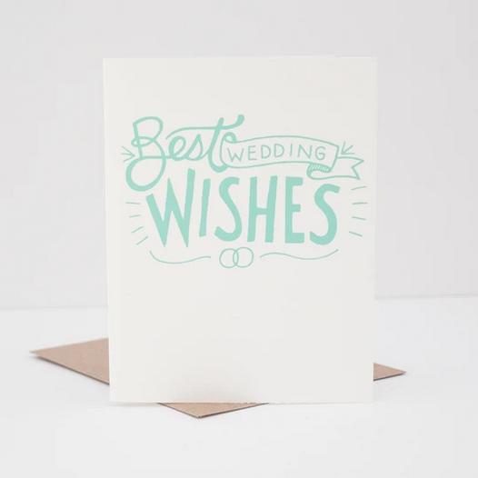 Exit343Design Best Wedding Wishes Card
