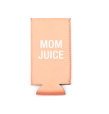 About Face Designs Mom Juice Slim Koozie
