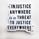 Steel Petal Press Injustice Sticker