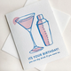 Steel Petal Press Day Drink Birthday Card