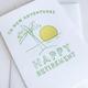 Steel Petal Press New Adventures Retirement Card