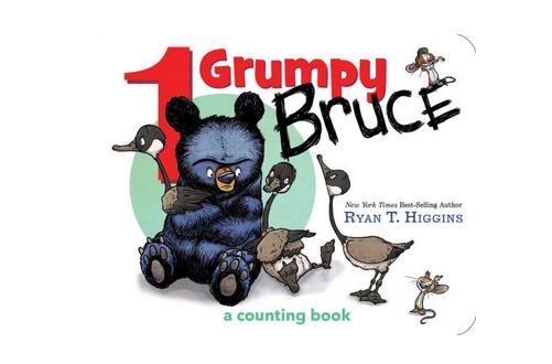 Hachette 1 Grumpy Bruce: A Counting Board Book