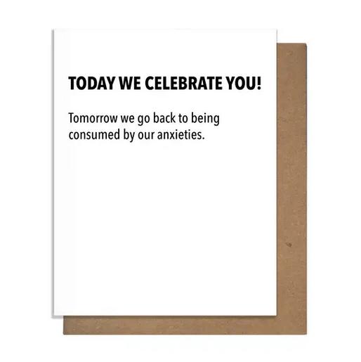 Pretty Alright Goods Celebrate You Card