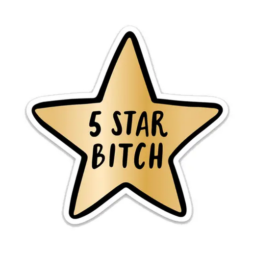 Brittany Paige 5 Star Bitch Sticker