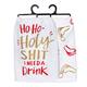 Primitives By Kathy Dish Towel - Ho Ho Holy