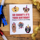 Wild Card Creations Birthday Pawty Pups Card