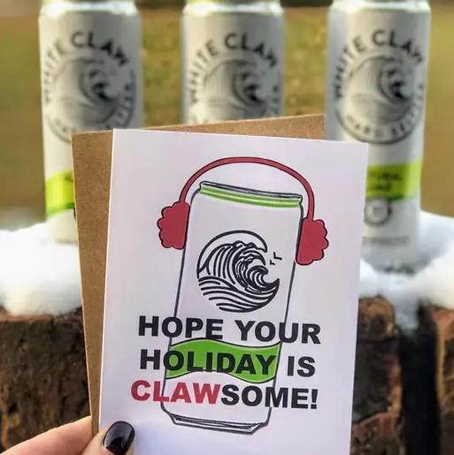 Wild Card Creations Clawsome Holiday Card