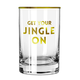Creative Brands Get Your Jingle On Rocks Glass