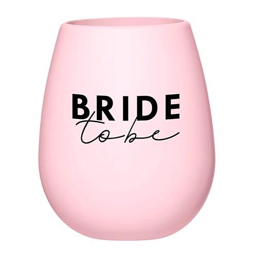 Creative Brands Bride To Be Silicone Wine Glass