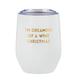 Creative Brands 12 oz Wine Tumbler - Wine Christmas