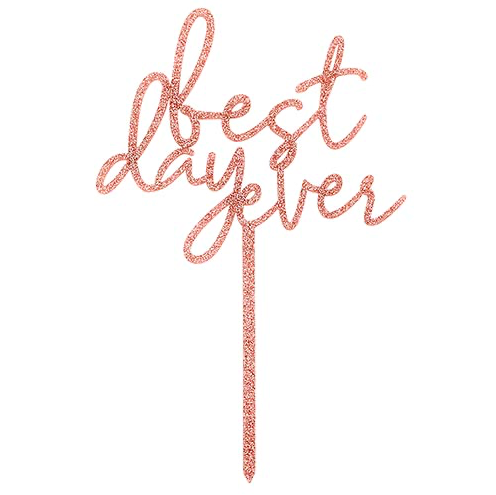 Creative Brands Best Day Ever Cake Topper
