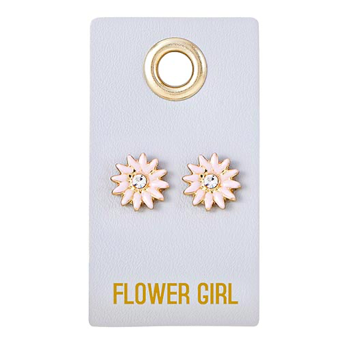 Creative Brands Flower Girl Earring
