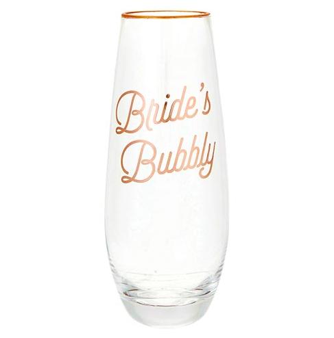 Creative Brands Bride's Bubbly Champagne Glass