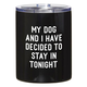 Creative Brands 12oz Black Tumbler - My Dog