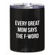 Creative Brands 12oz Black Tumbler - Great Mom