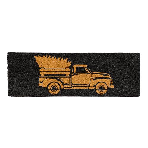 Creative Brands Christmas Truck Door Mat