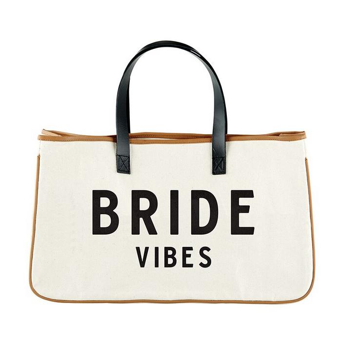 Creative Brands Canvas Tote - Bride Vibes
