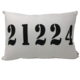 21224 Zip Code Pillow