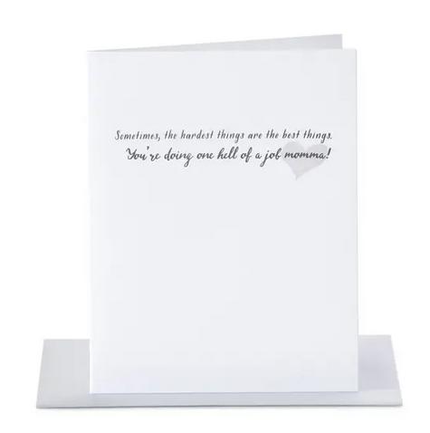 Paper Ephipanies Hardest Things Best Things Card