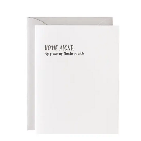 Paper Ephipanies Home Alone Christmas Wish Card