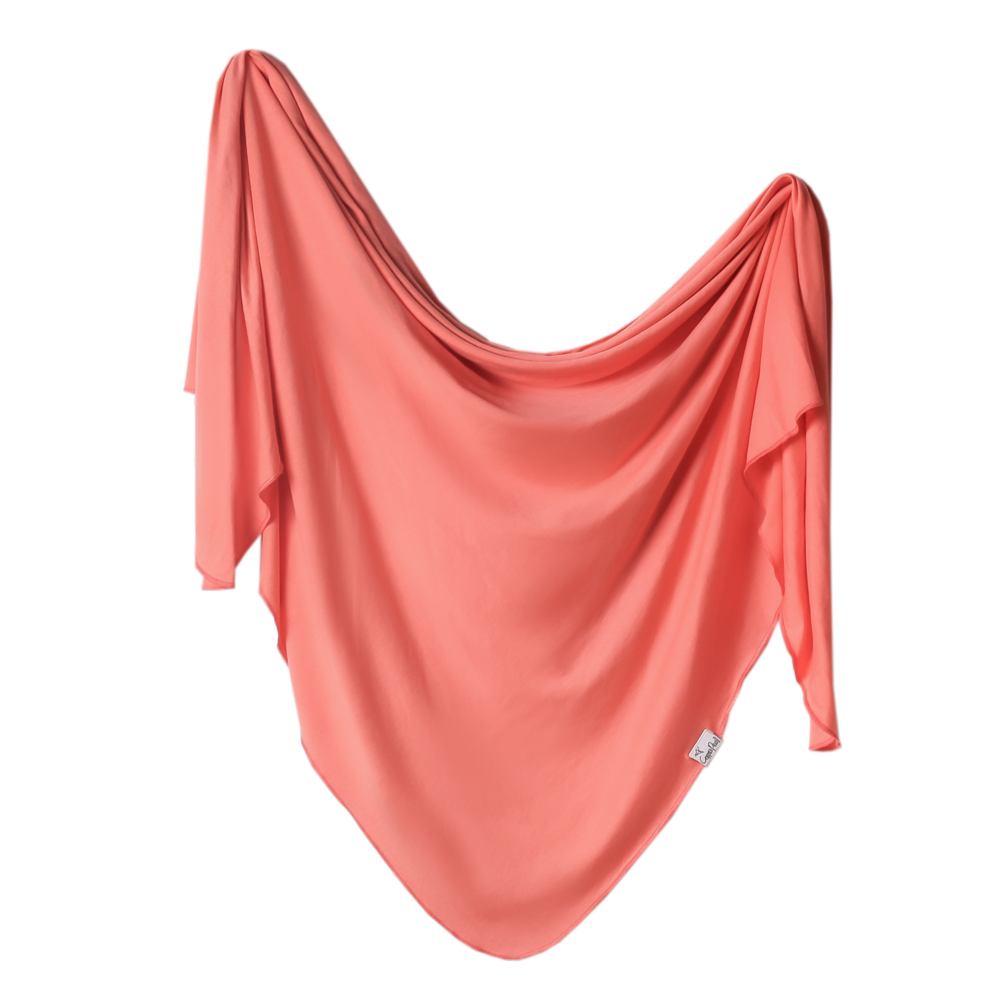 Copper Pearl Knit Swaddle Blanket Stella