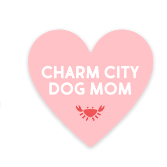 Dogs of Charm City Charm City Dog Mom Sticker