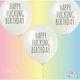 FUN CLUB Happy Fucking Birthday Balloon 3 Pack