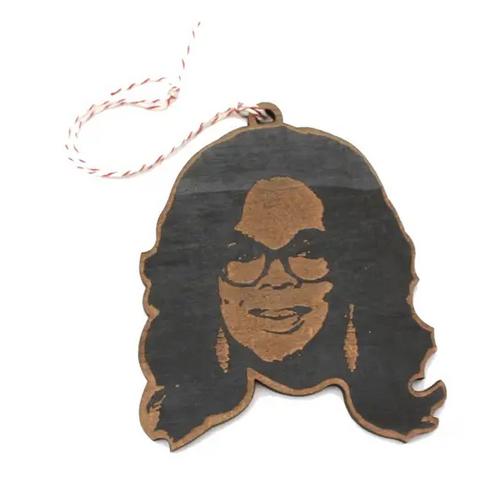 LetterCraft Oprah Winfrey Ornament