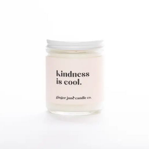 Ginger June Candle Co Kindness is Cool Candle