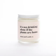 Ginger June Candle Co Not Drinking Alone Plants Candle