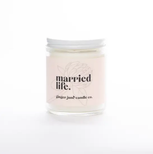 Ginger June Candle Co Married Life Candle