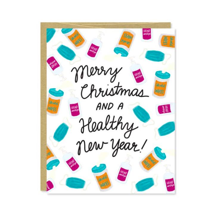 Row House 14 Healthy New Year Card