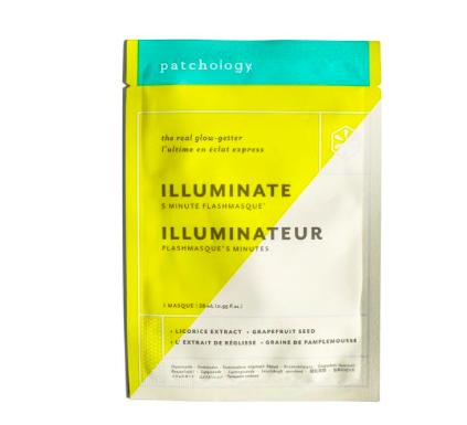 patchology FlashMasque Illuminate 5 Minute Sheet Mask