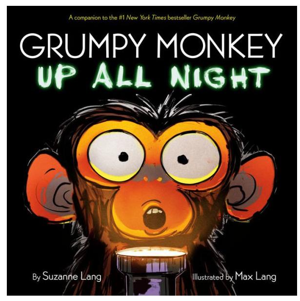 Penguin Randomhouse Grumpy Monkey Up All Night