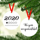 Rubi and Lib Design Studio 2020 One Star Rating Ornament