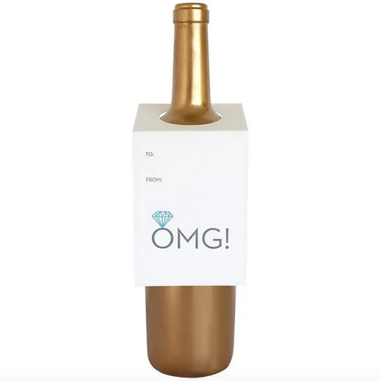 Chez Gagne OMG! Wine Tag