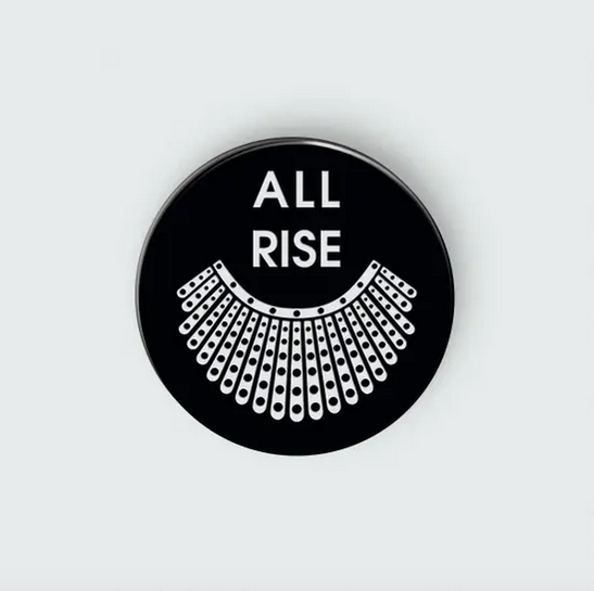 Chez Gagne All Rise Collar - RBG Enamel Pin