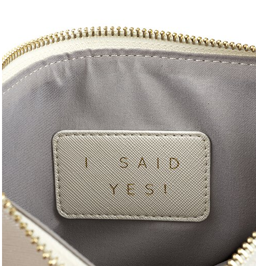 Creative Brands Leather Pouch - Bride