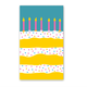 Rock Scissor Paper Big Layer Cake Enclosure Card