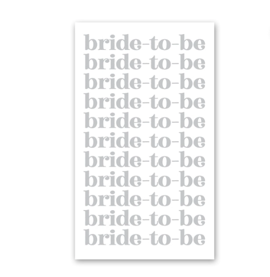 Rock Scissor Paper Bride-to-Be Enclosure Card