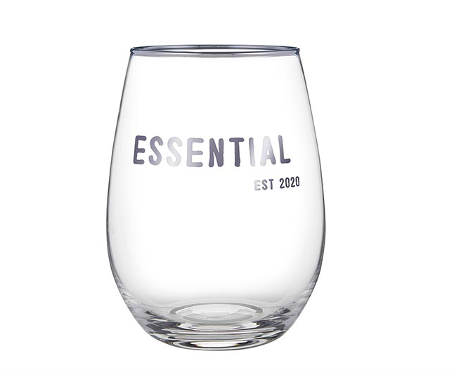 Creative Brands Essential EST 2020 Wine Glass