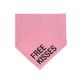 About Face Designs Free Kisses S/M Dog Bandana