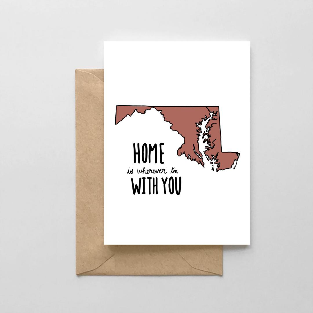 NoraJayne Home Maryland Card