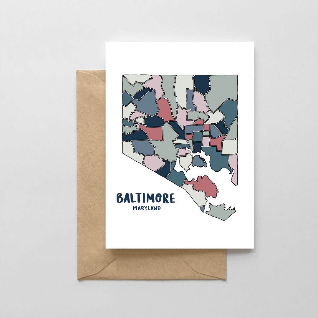 NoraJayne Bmore Map Blue Card