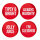 Creative Brands Holiday Bottle Stoppers 4 pack