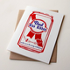 Steel Petal Press Blue Ribbon Dad Card